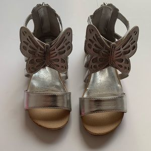 EUC American Girl Butterfly Sandals Size: 10
